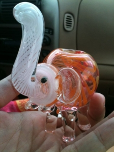 Cute Elephant Pipe